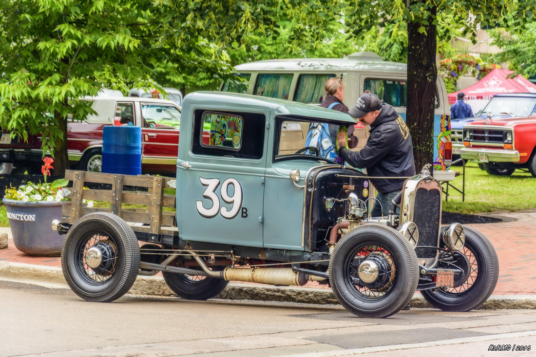 1931 Ford Model A pickup hot rod by kenmo Photography Transportation