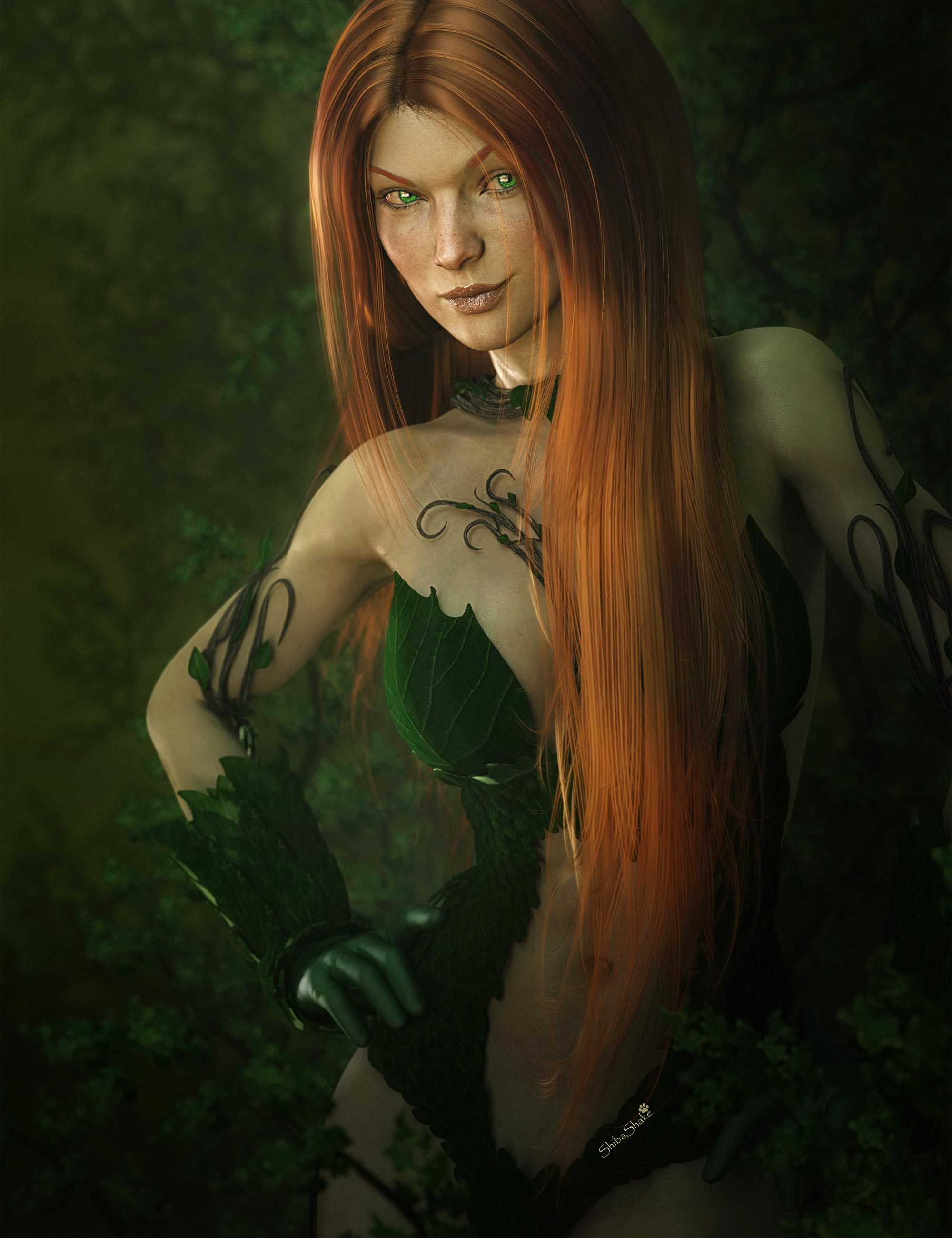 Poison Ivy Fan Art