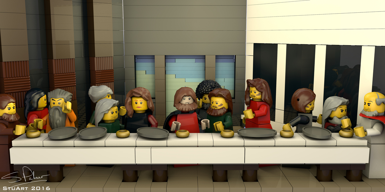 The Last Lego Supper