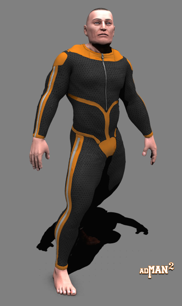 scifi pack one for adman 2 WIP by adh3d