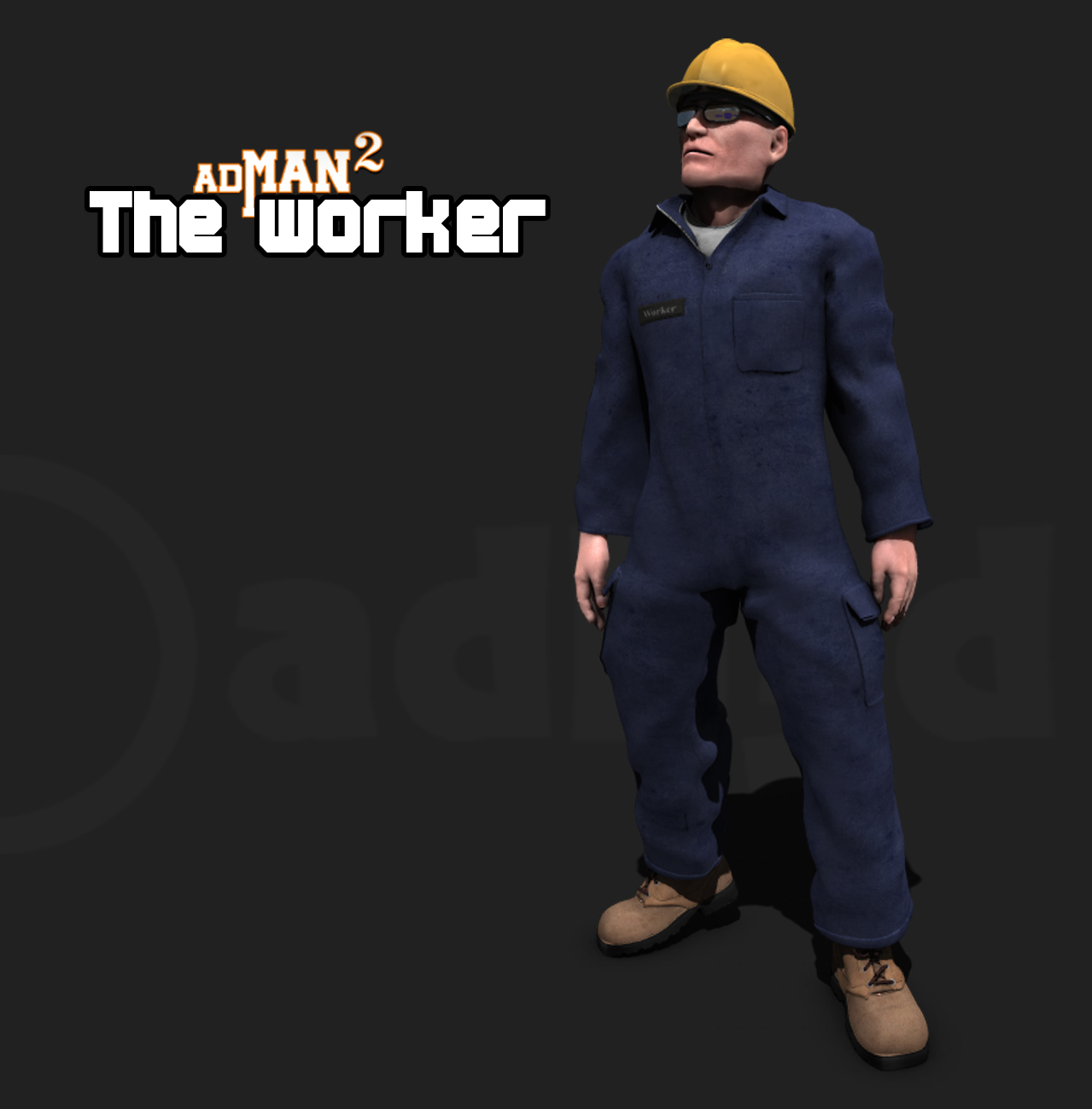 The worker by adh3d