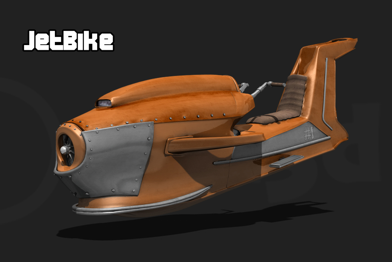 Jetbike by adh3d