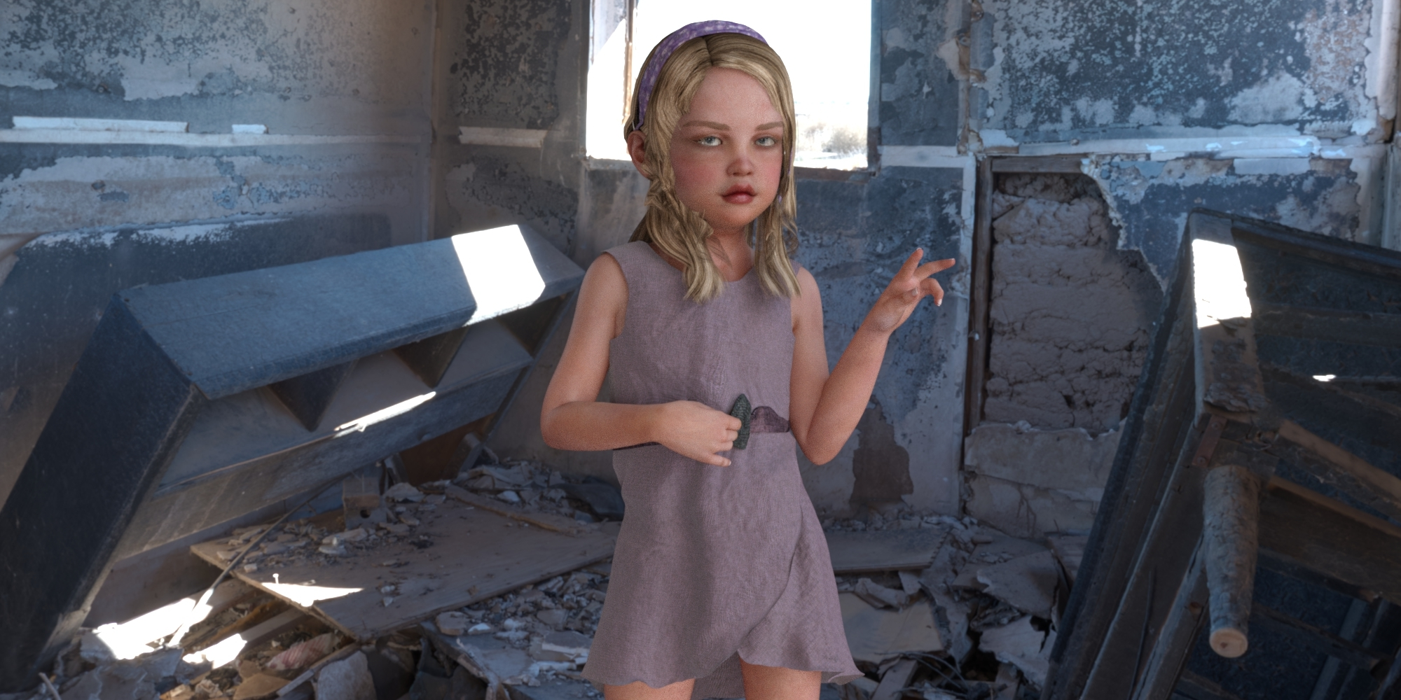 Angel of the Donbass by snarkmaster DAZ Studio People