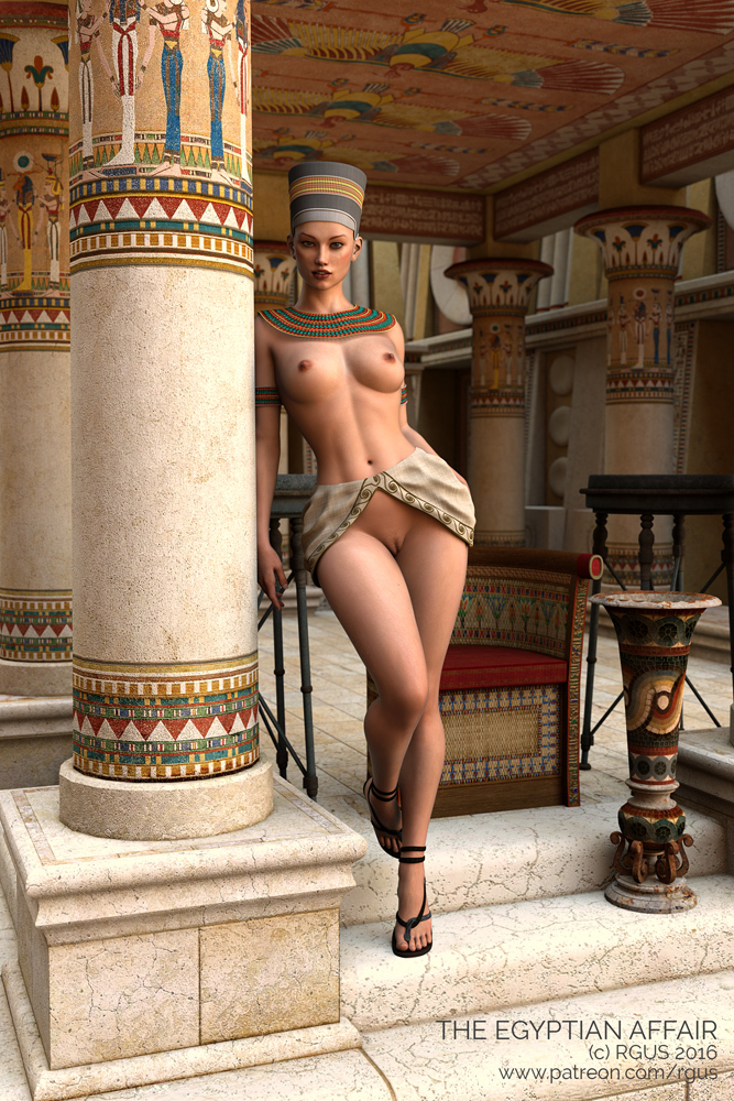 The Egyptian Affair By Rgus Dazstudio Fantasy-3338