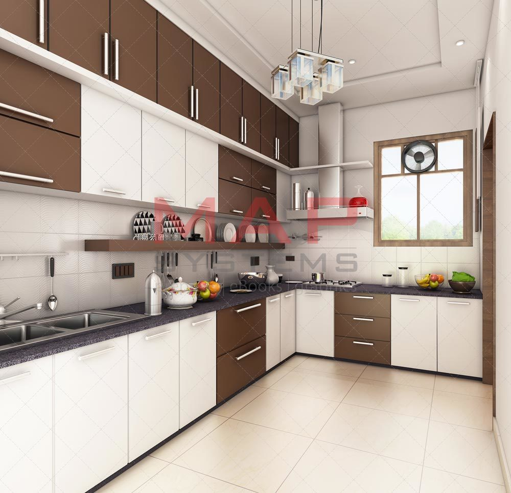 Kitchen 3D Rendering By HelenGarcia 3D Modeling Architecture