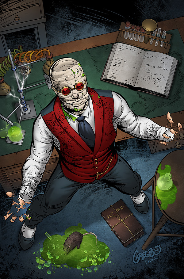 Zenescope Tales of Terror - The Invisible Man
