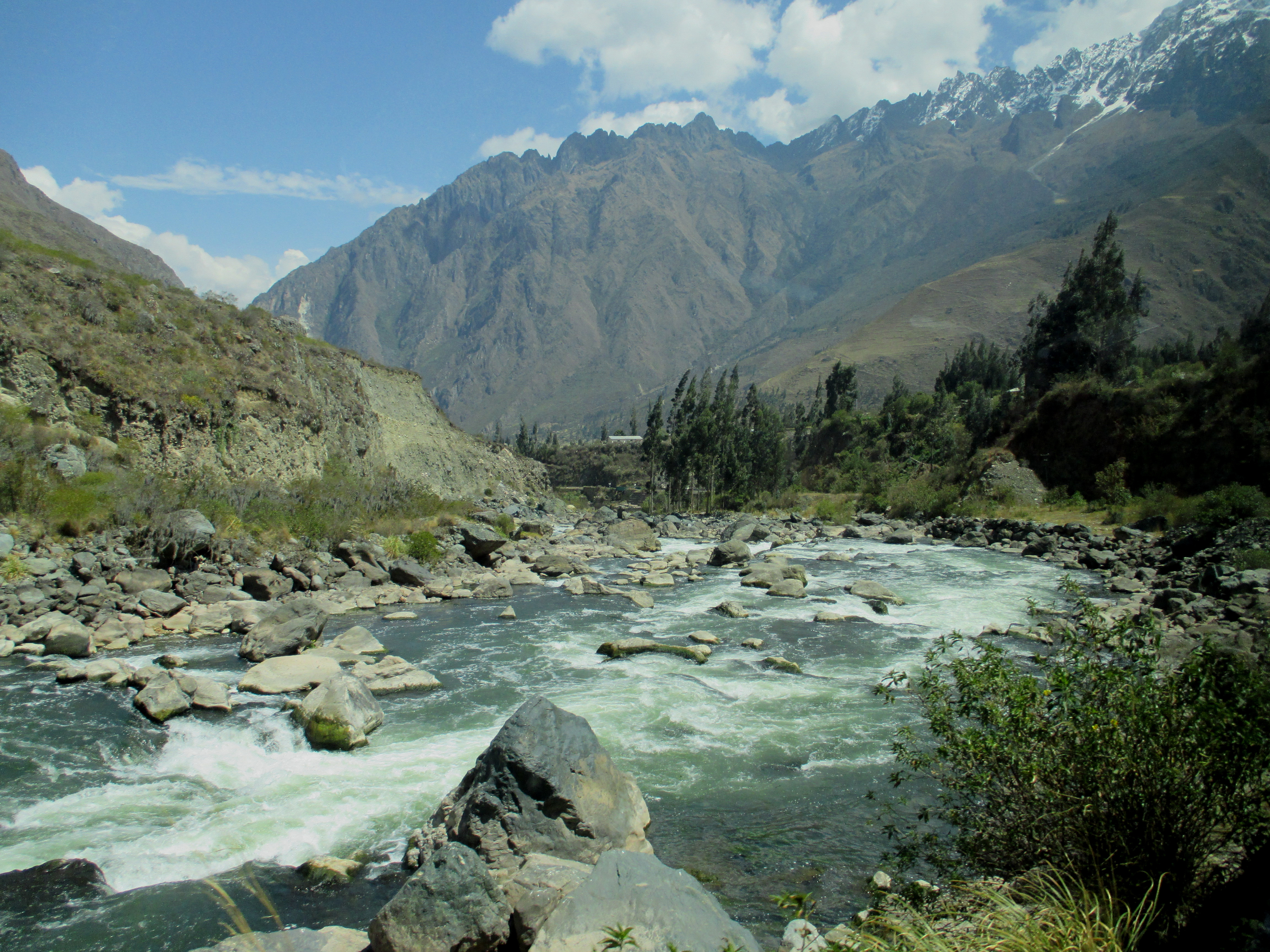 Urubamba River The Urubamba River by ...