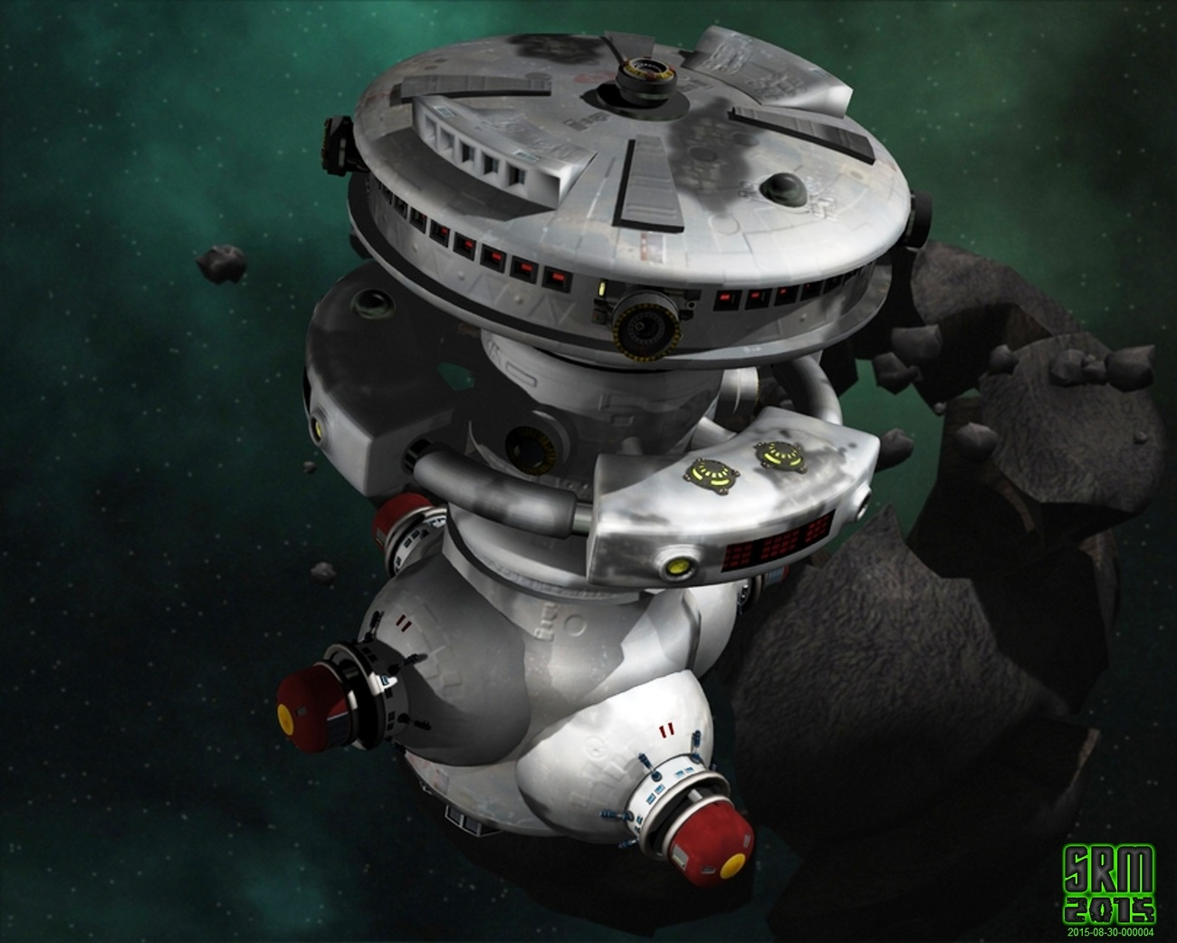 DEEP SPACE OUTPOST by azmulder DAZ|Studio Science Fiction