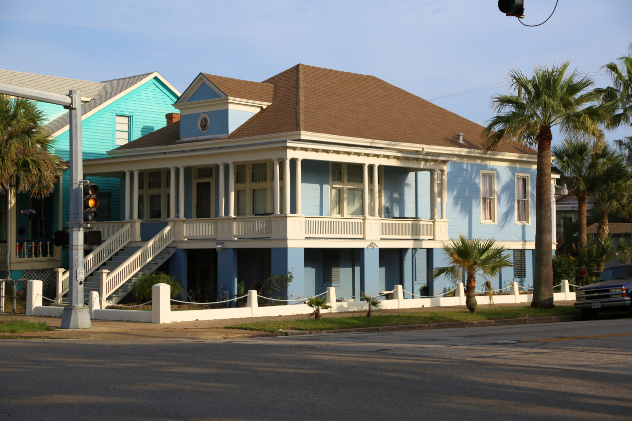 Galveston historical home