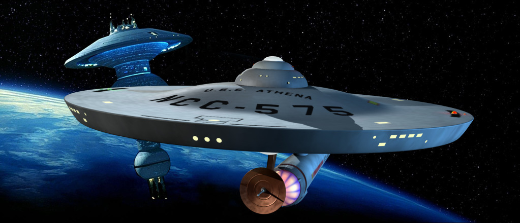 The U.S.S. Athena by Raymar3d