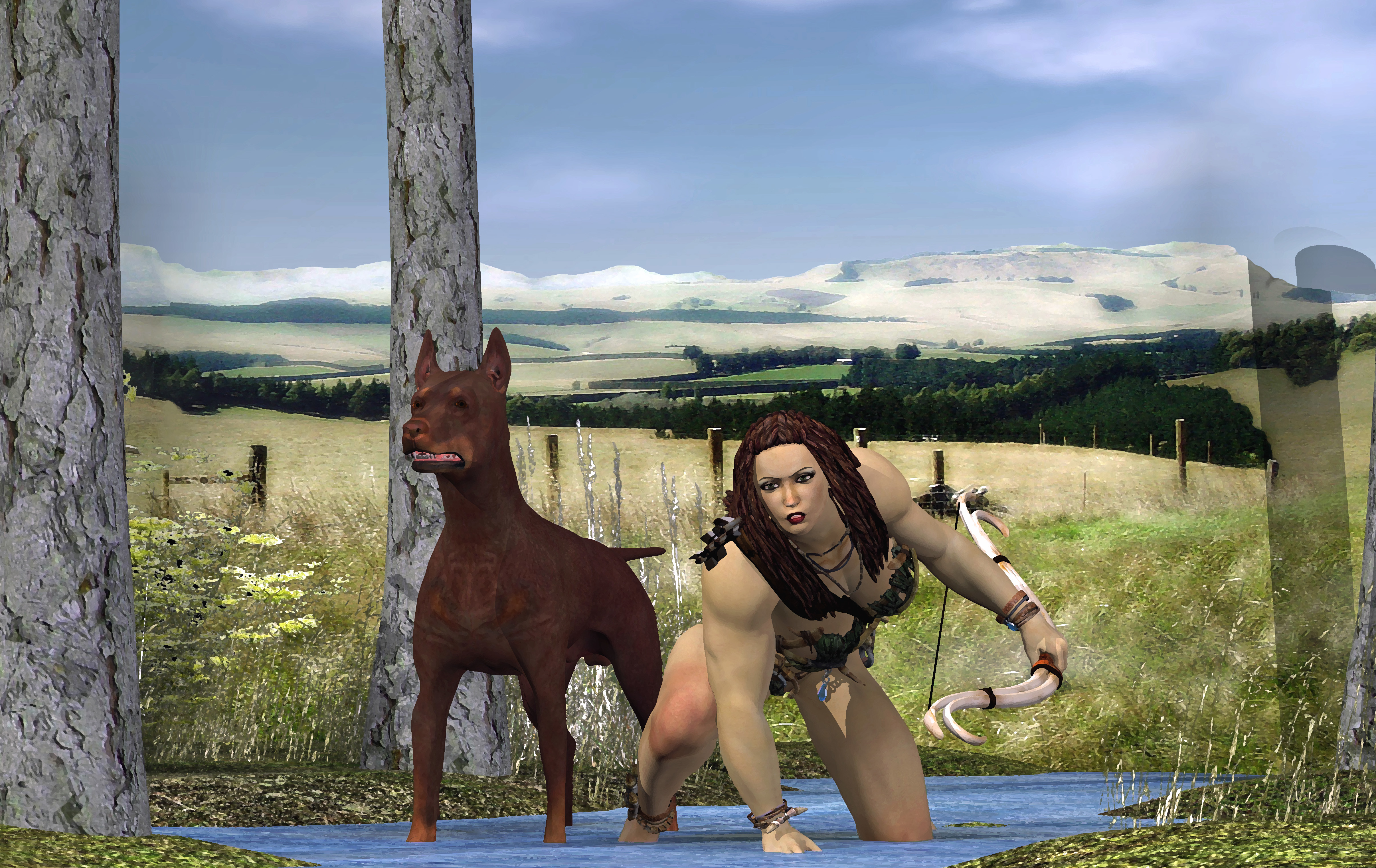 Women and Beast #11: On the Hunt