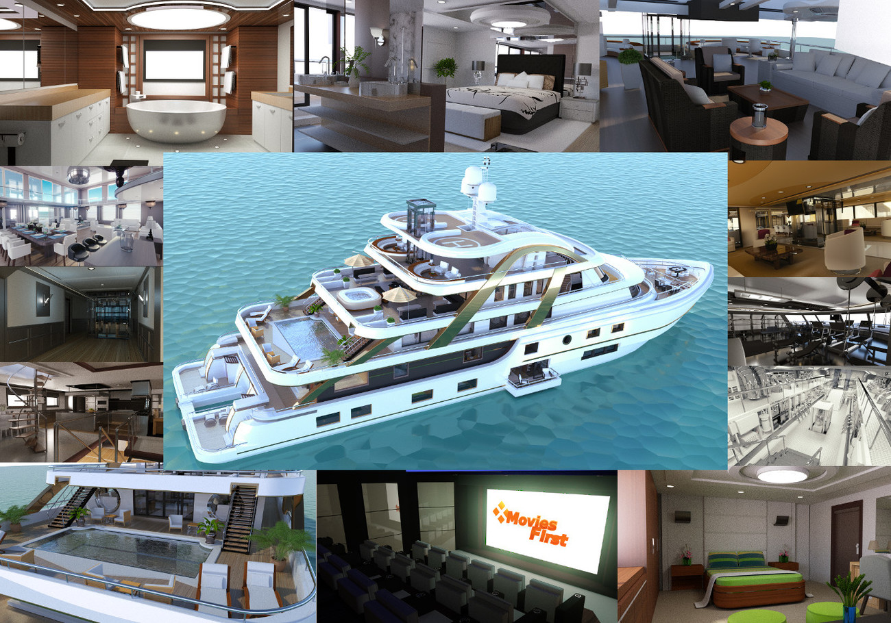 Luxury Yacht Promo