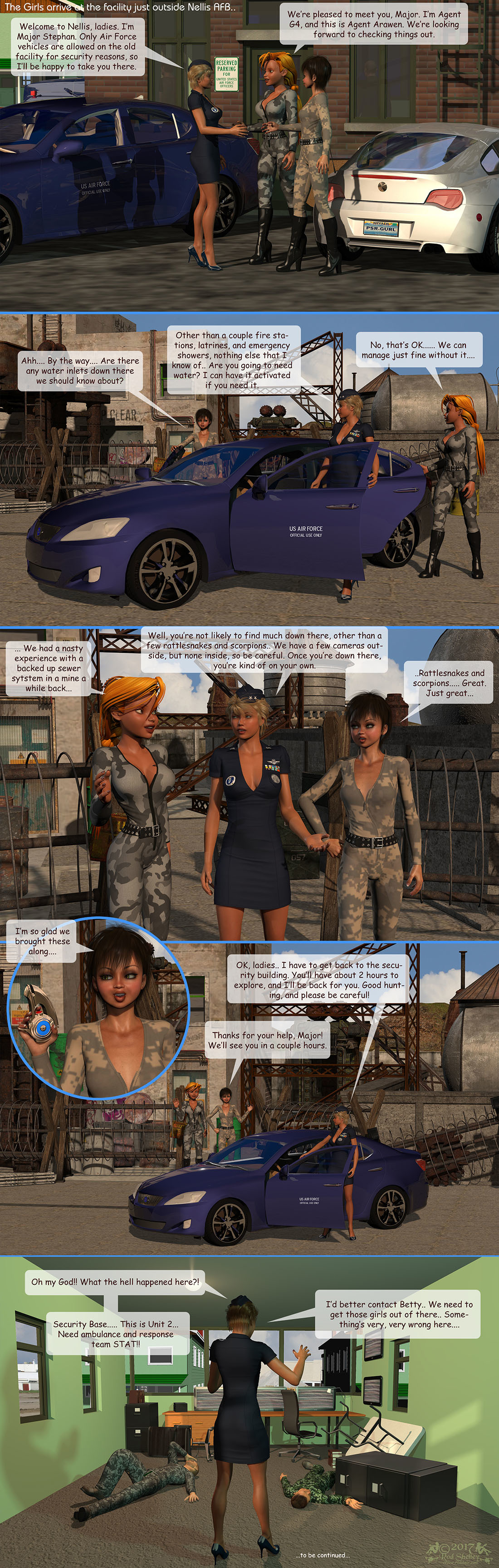Girls From T.N.A: Breitlenger Jar: Ch 6 Page 4