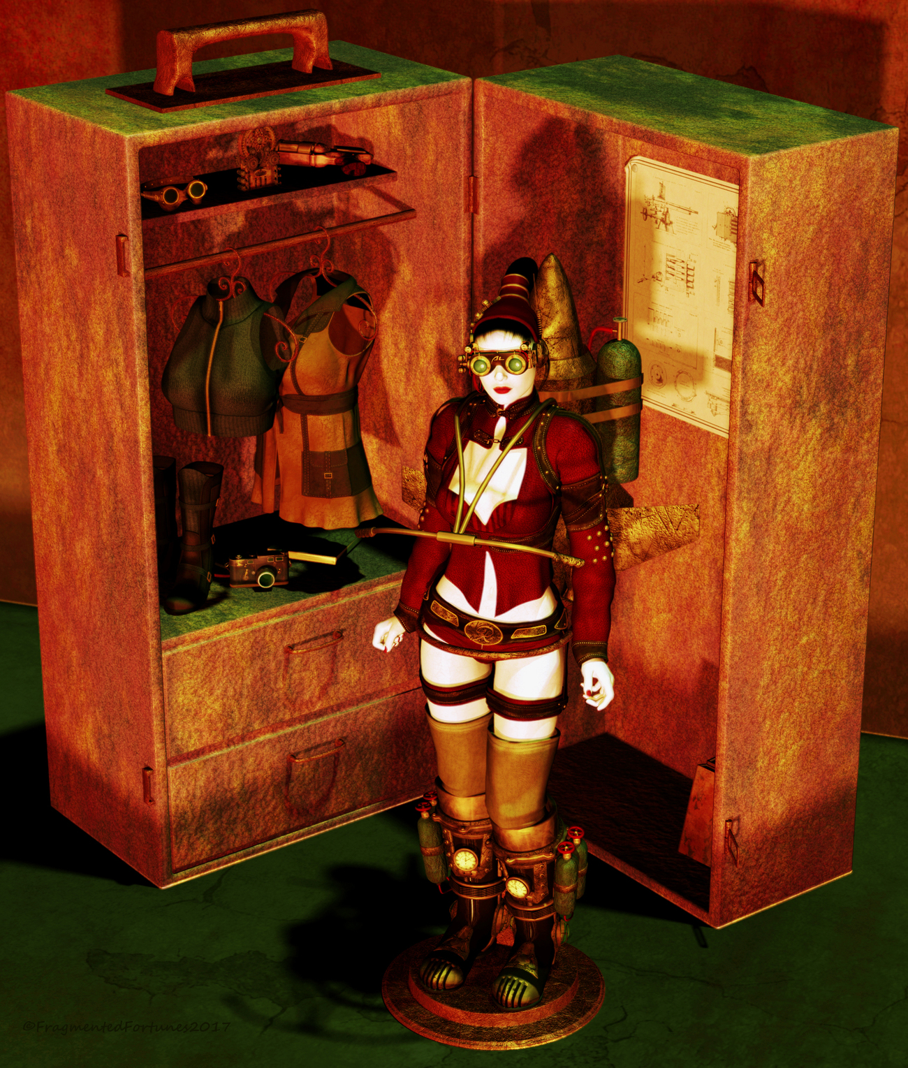 Doll Collection - Steampunk Play Set