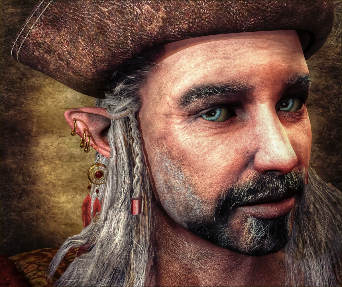 Ye Olde Elvish Pirate by azoohouse