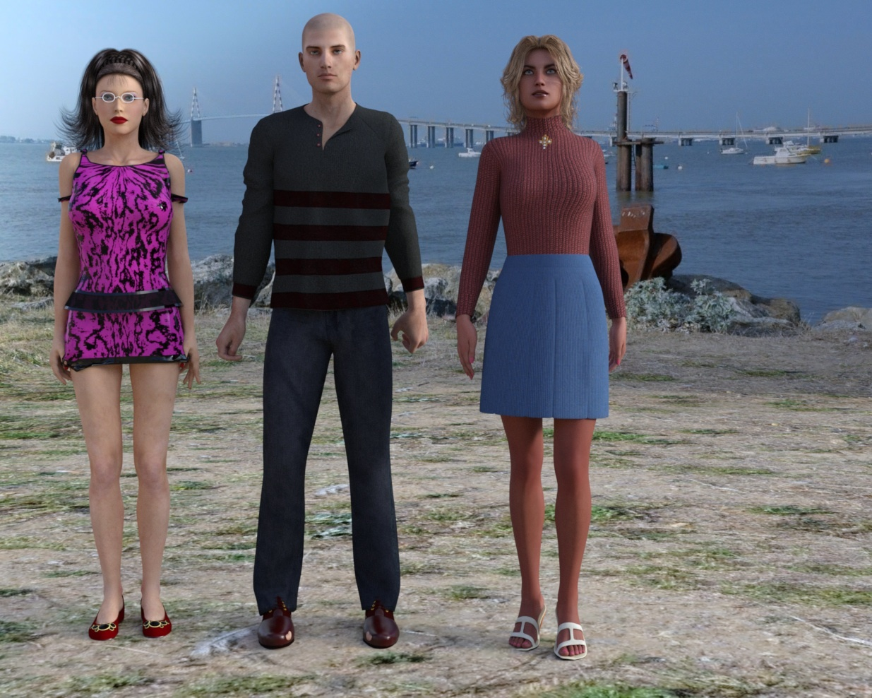 Sunday - The Fisherman & His Sisters