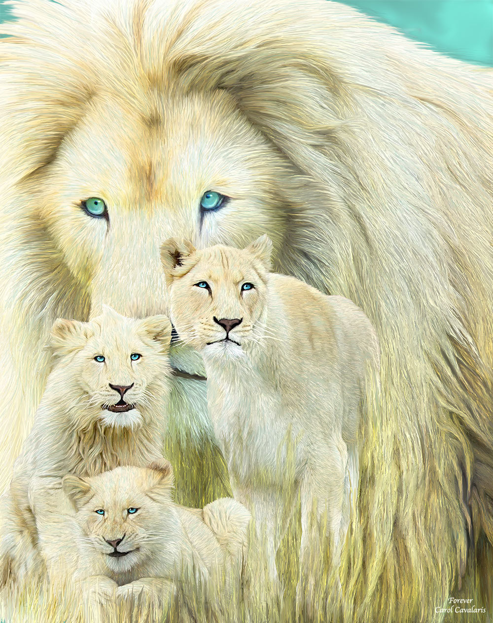White Lion Family - Forever