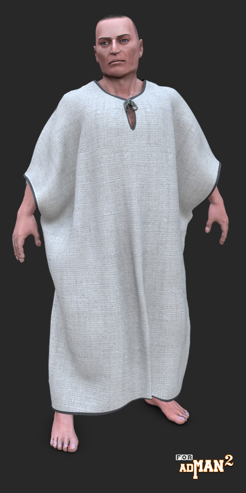 Ancient dynamic robe