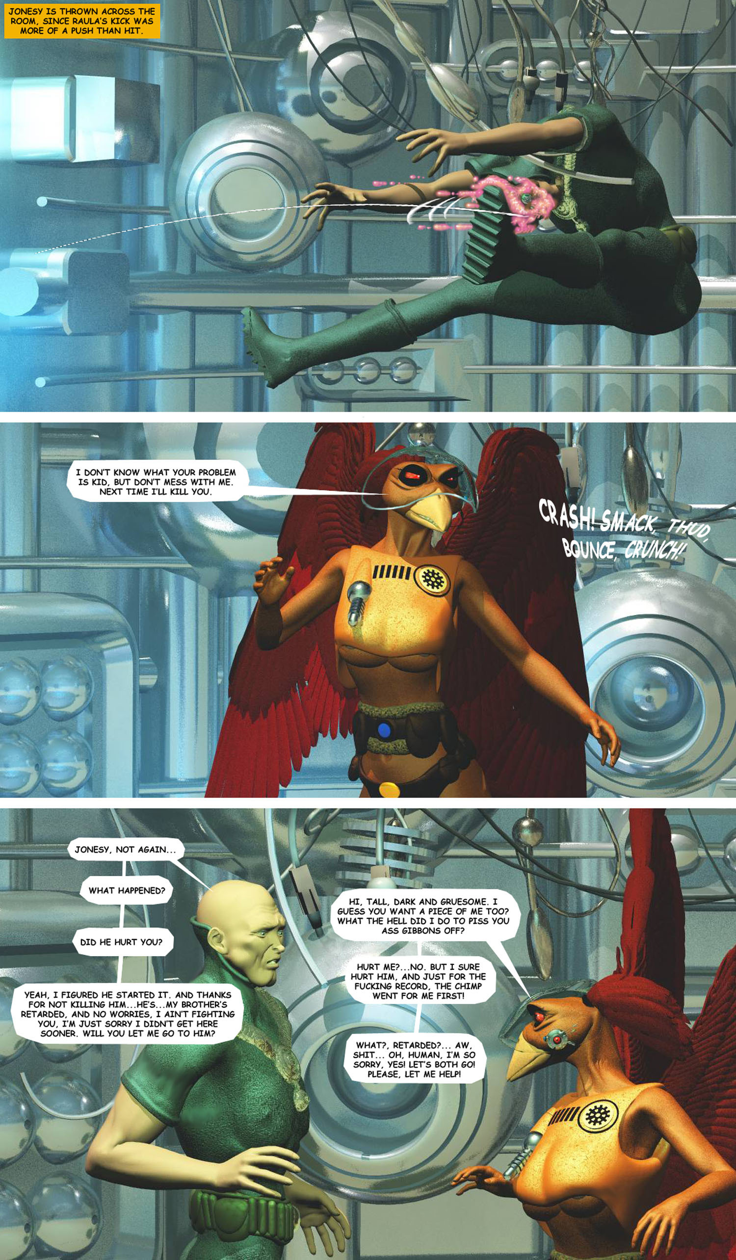 STORM OVER WHOOMERA : PAGE 61