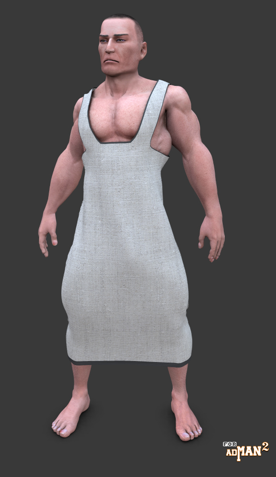Ancient robe by adh3d