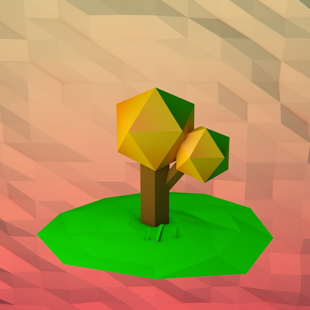 First try at Low-Poly
