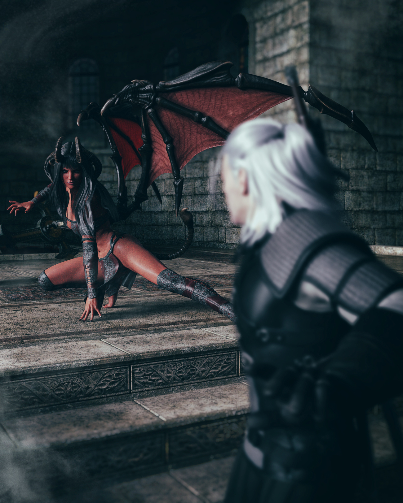 Want to play with me Witcher?