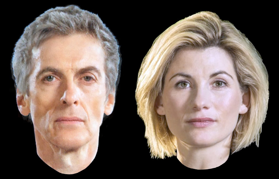 Watch Dr Who become female ...