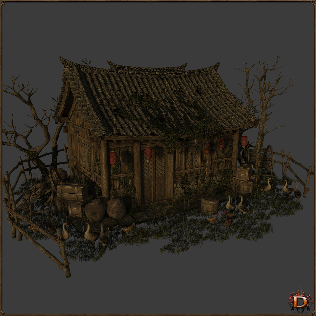 Chinese Old House1 by Dante78