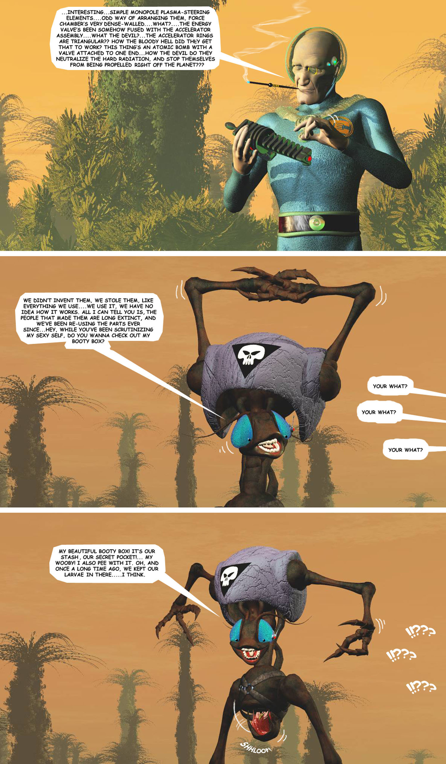 STORM OVER WHOOMERA : PAGE 73