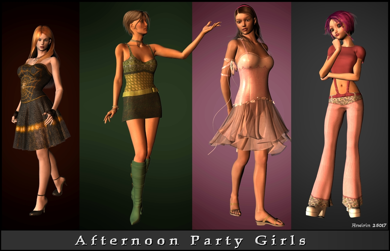 Afternoon Party Girls