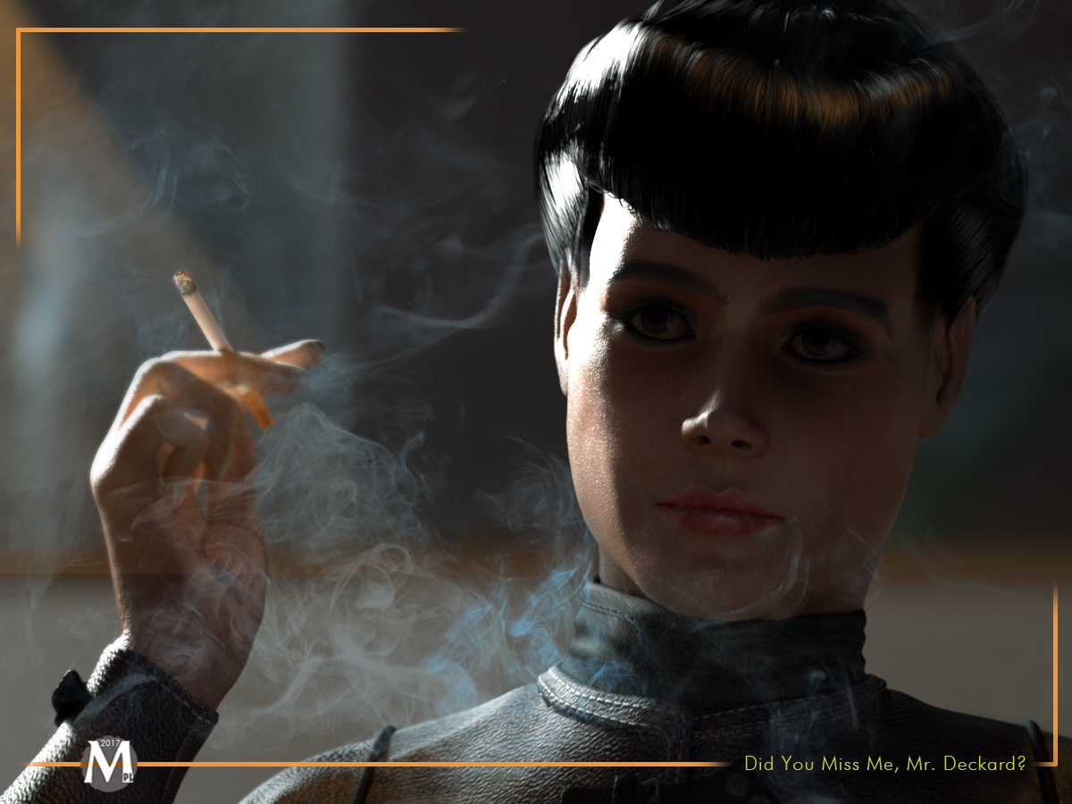 Did You Miss Me, Mr. Deckard? by MartiniquePL
