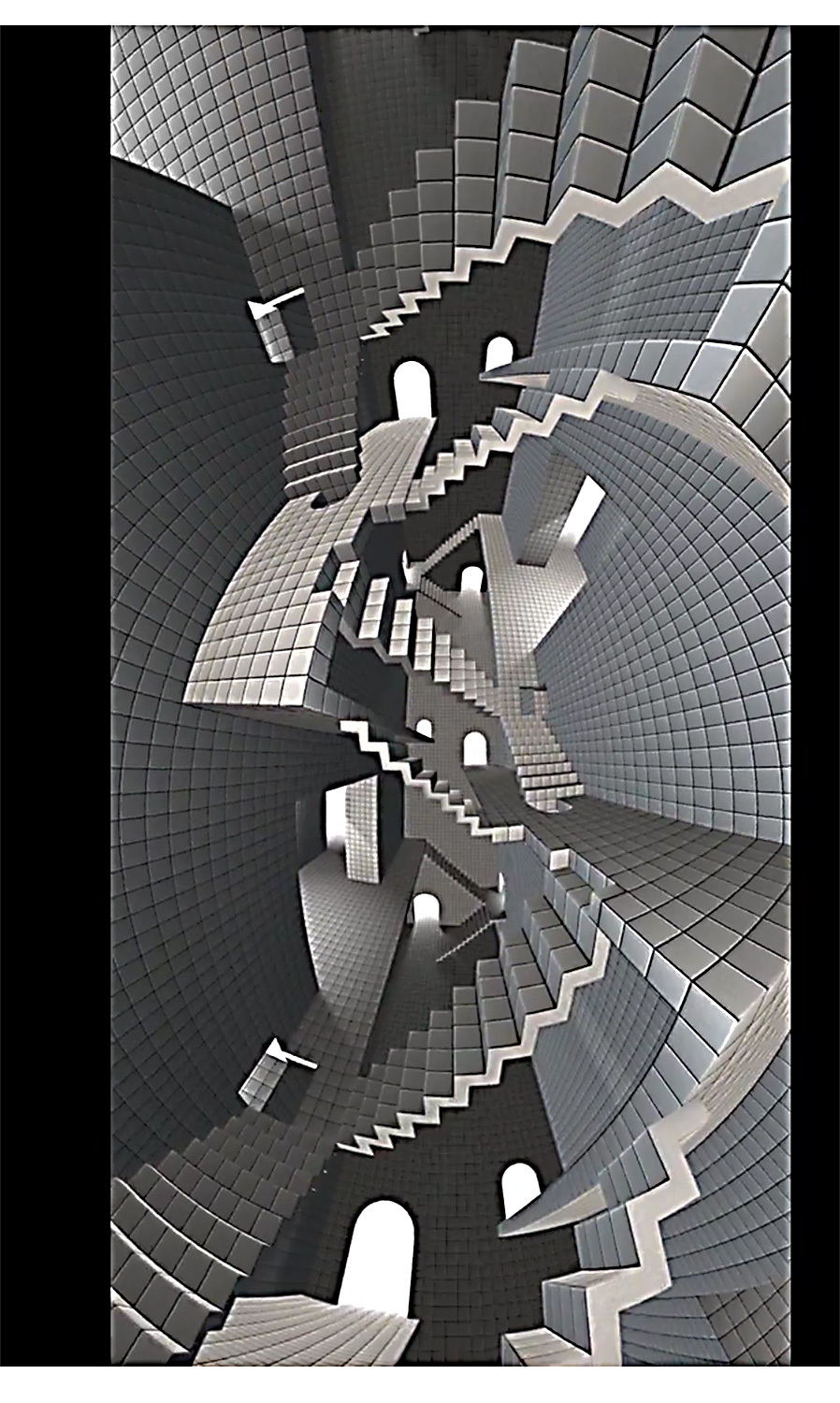 Escher stairs (Youtube movie)