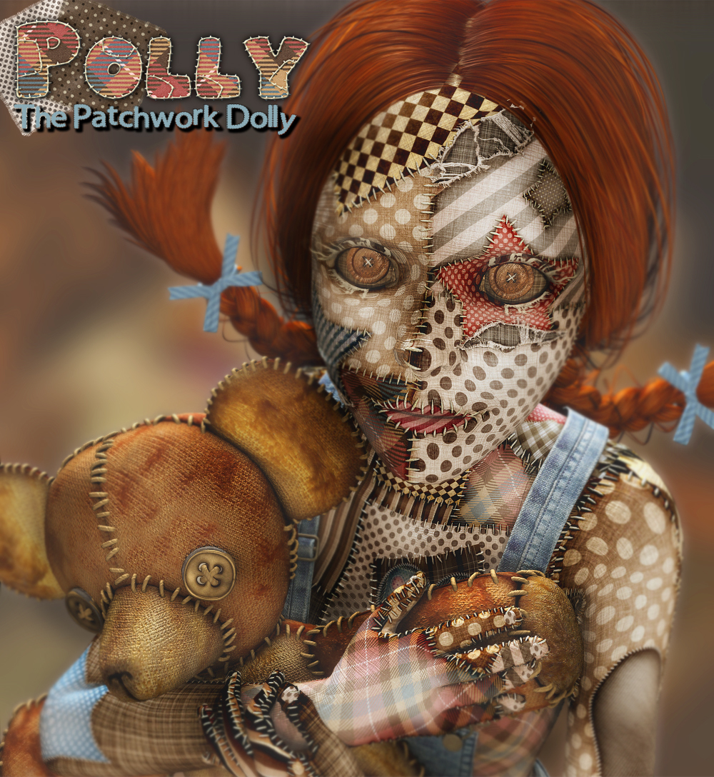 Polly the Patchwork Dolly