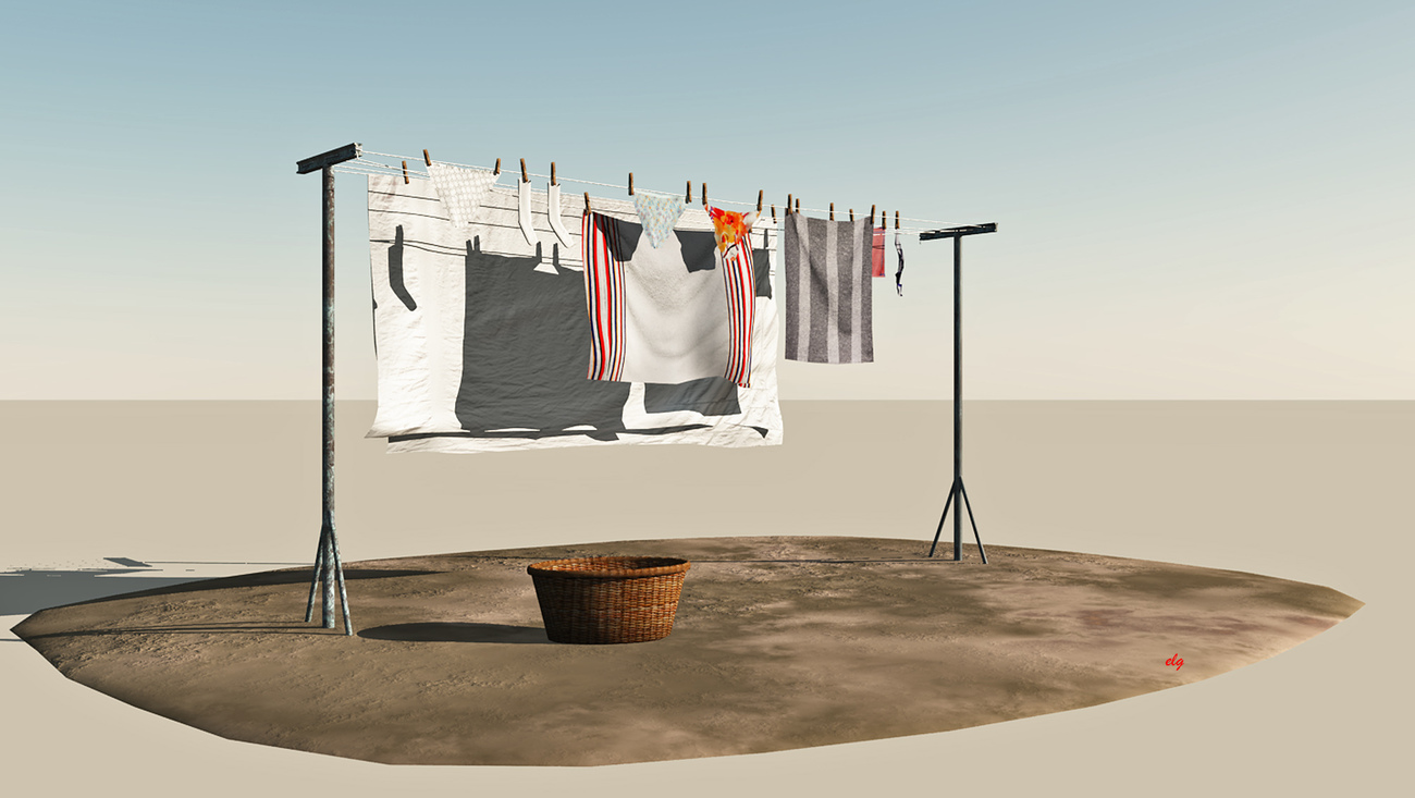 washing line by Domi48