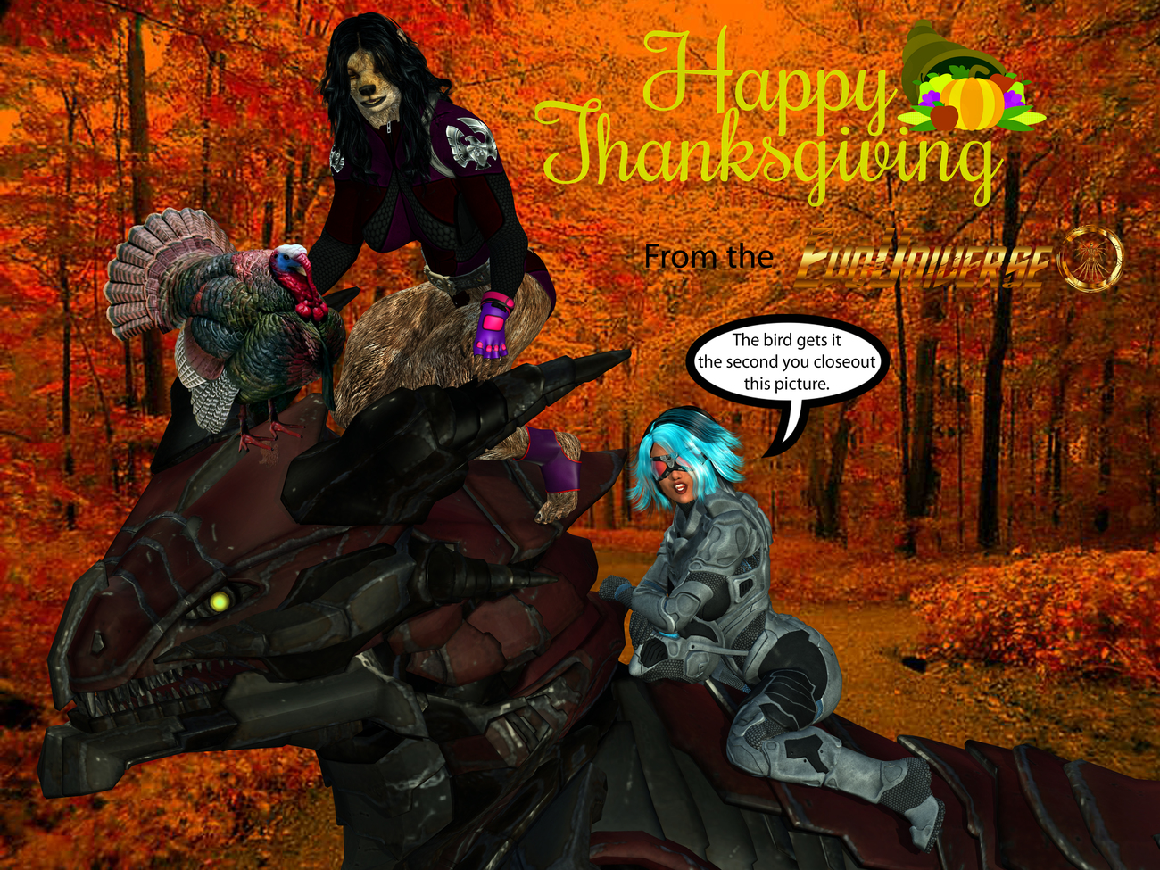HAPPY THANKSGIVING FROM THE EVO UNIVERSE