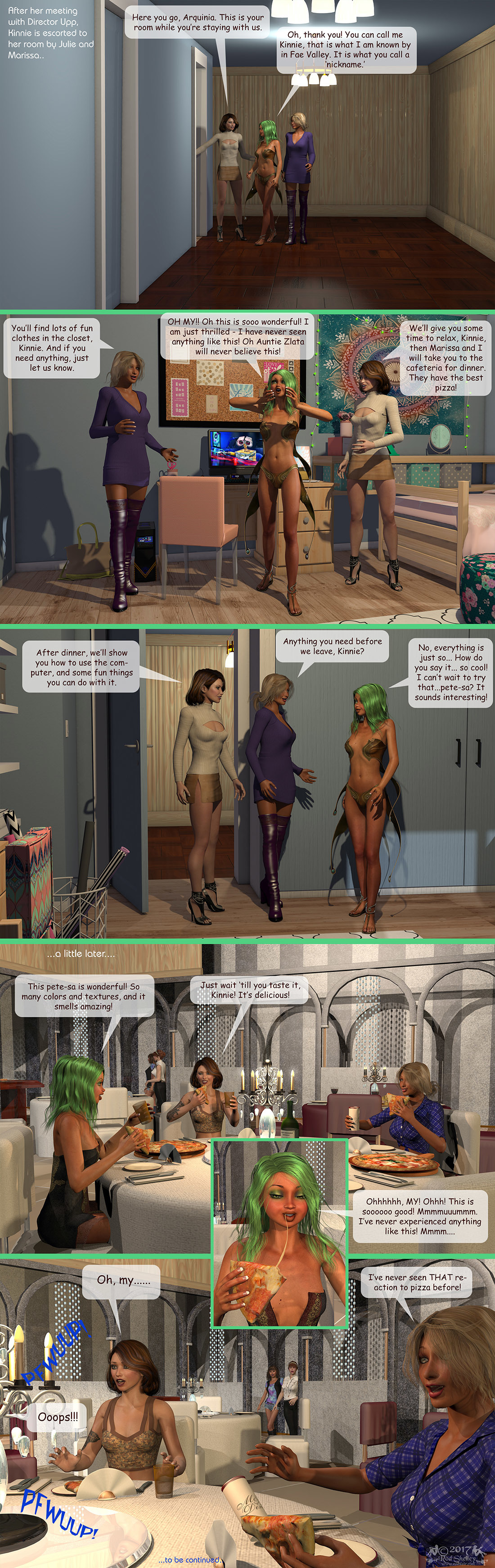 Girls From T.N.A: Breitlenger Jar: Ch 6 Page 11