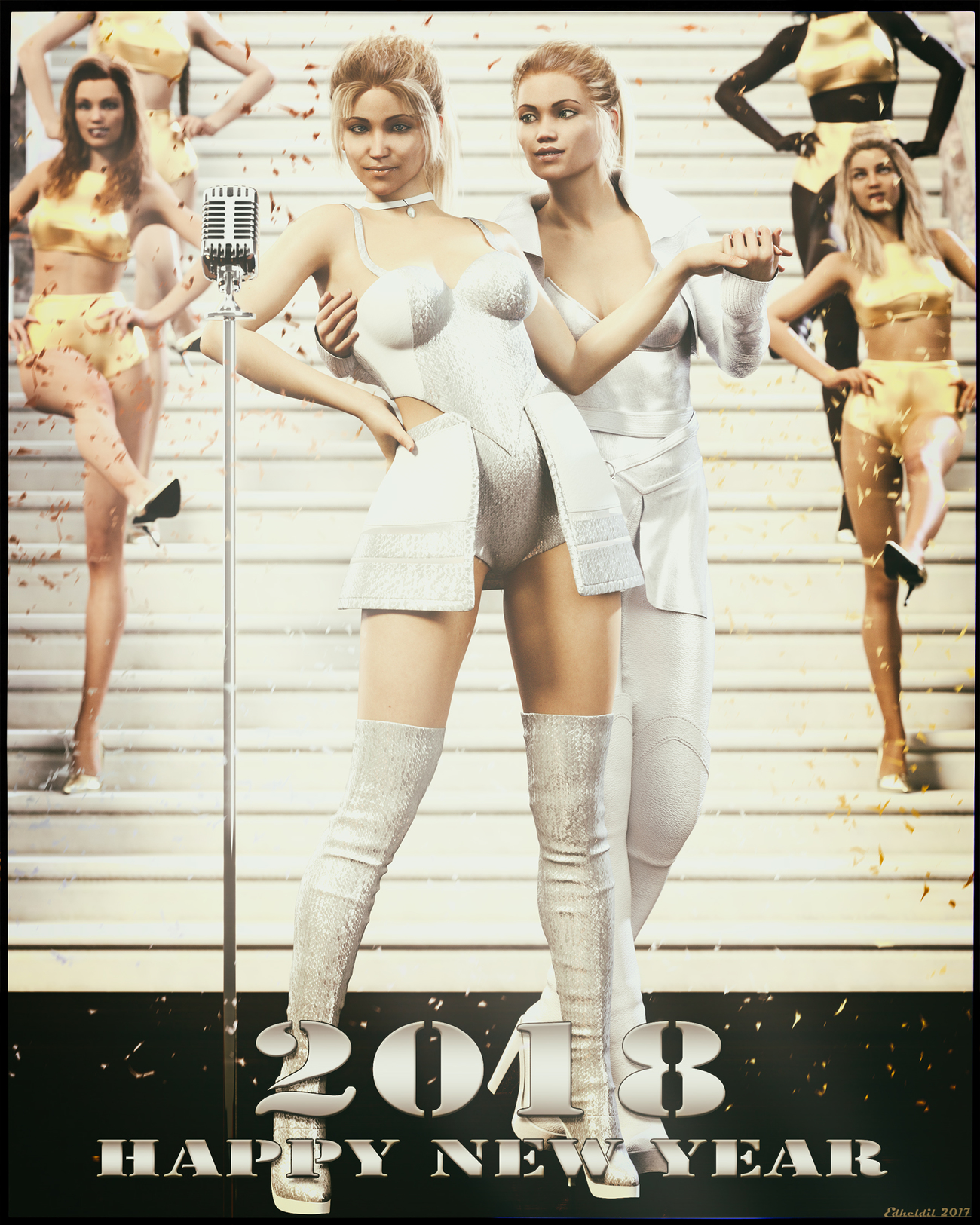 New Year's Eve Revue 2017-2018 by Edheldil