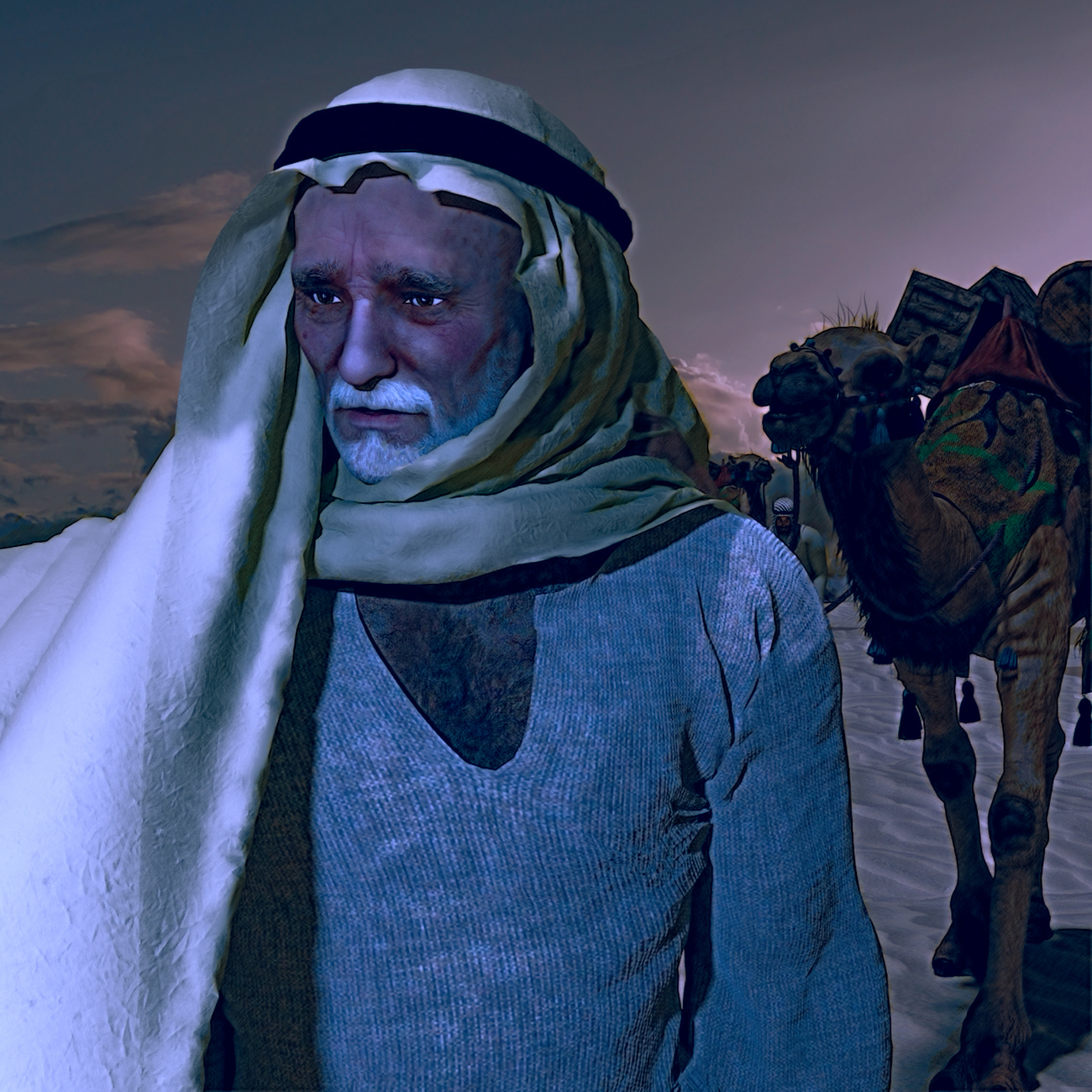 Chameliers Camel driver