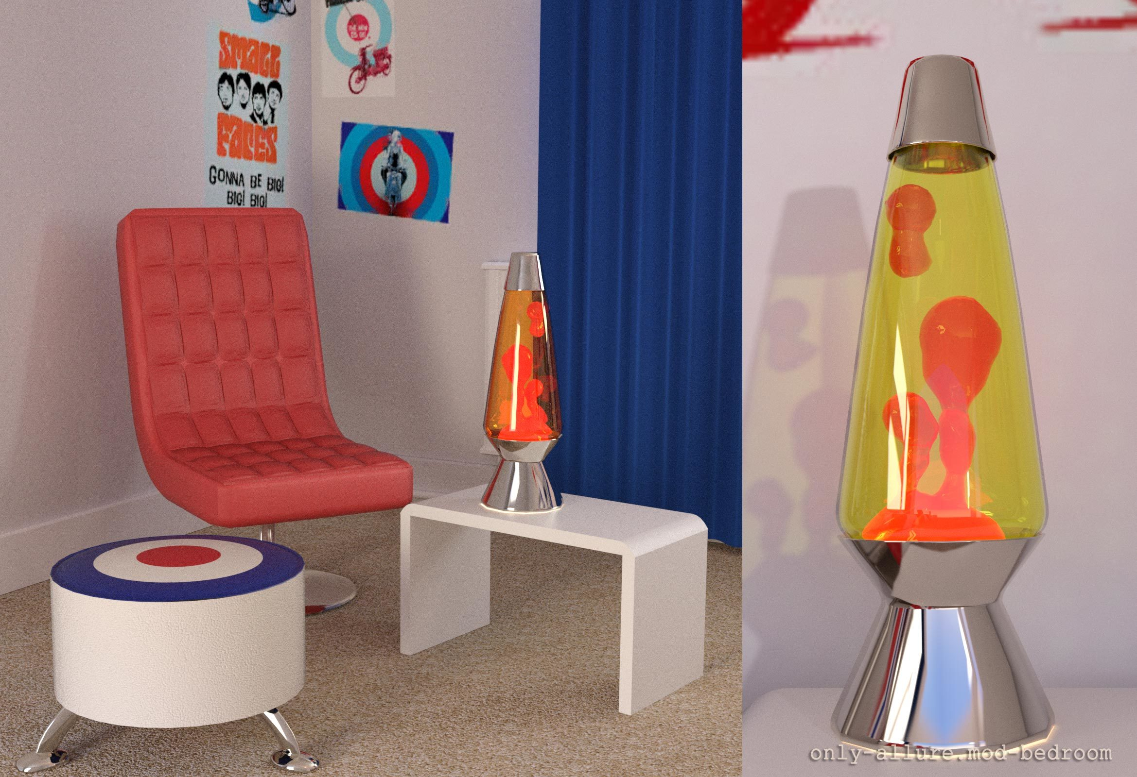 Bon Mod_Bedroom Lava Lamp