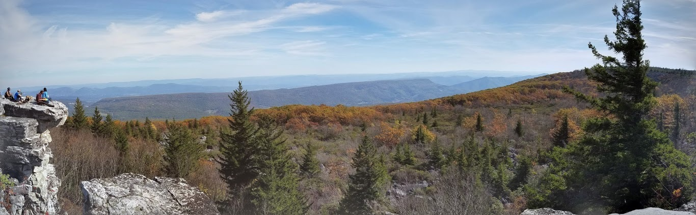 Dolly Sods Wilderness Area Panorama