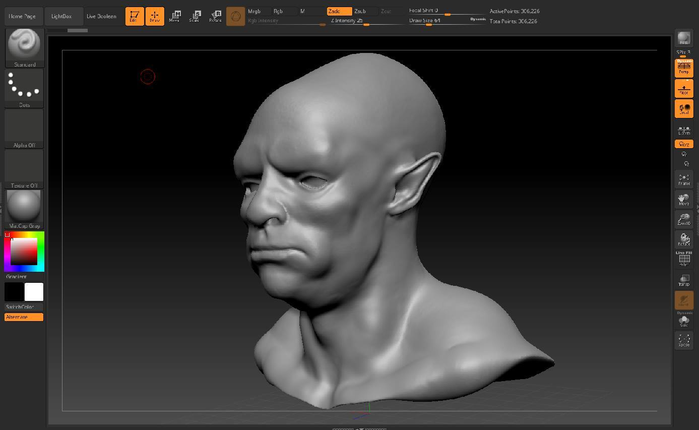 Character Rough - Orc Male