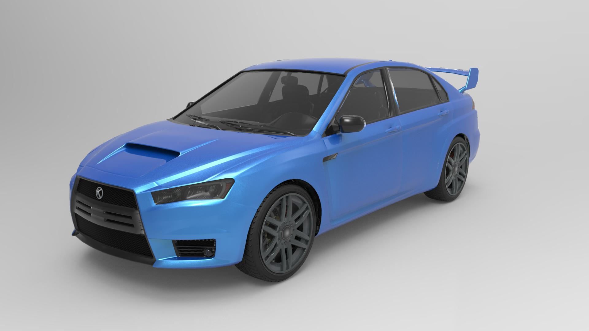 Kuruma (From GTA V) Render by ArthurLopes Other Apps Objects