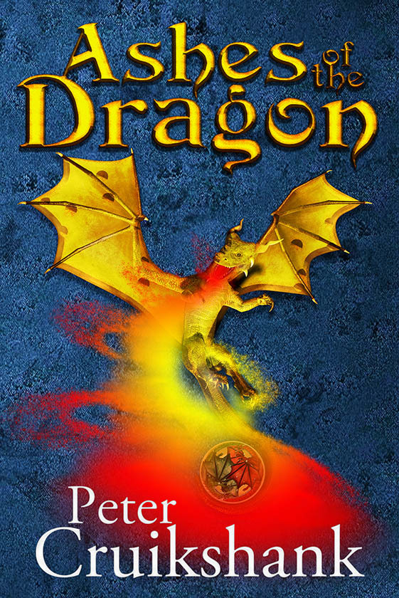 ASHES OF THE DRAGON ~ cover art & design for P