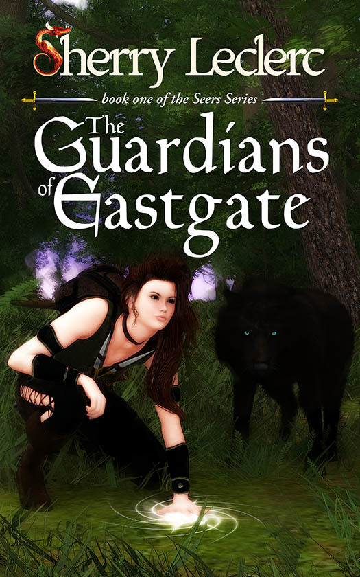 THE GUARDIANS OF EASTGATE ~ cover art & design