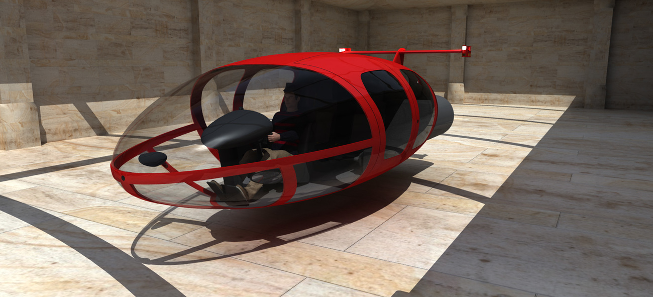 Aeropod flying vehicle 1