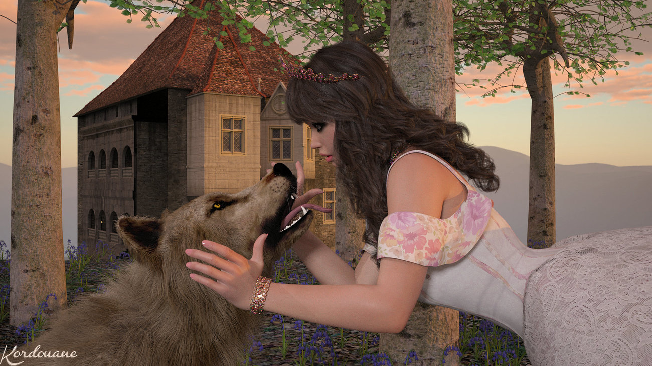 The princess and the wolf (2)3