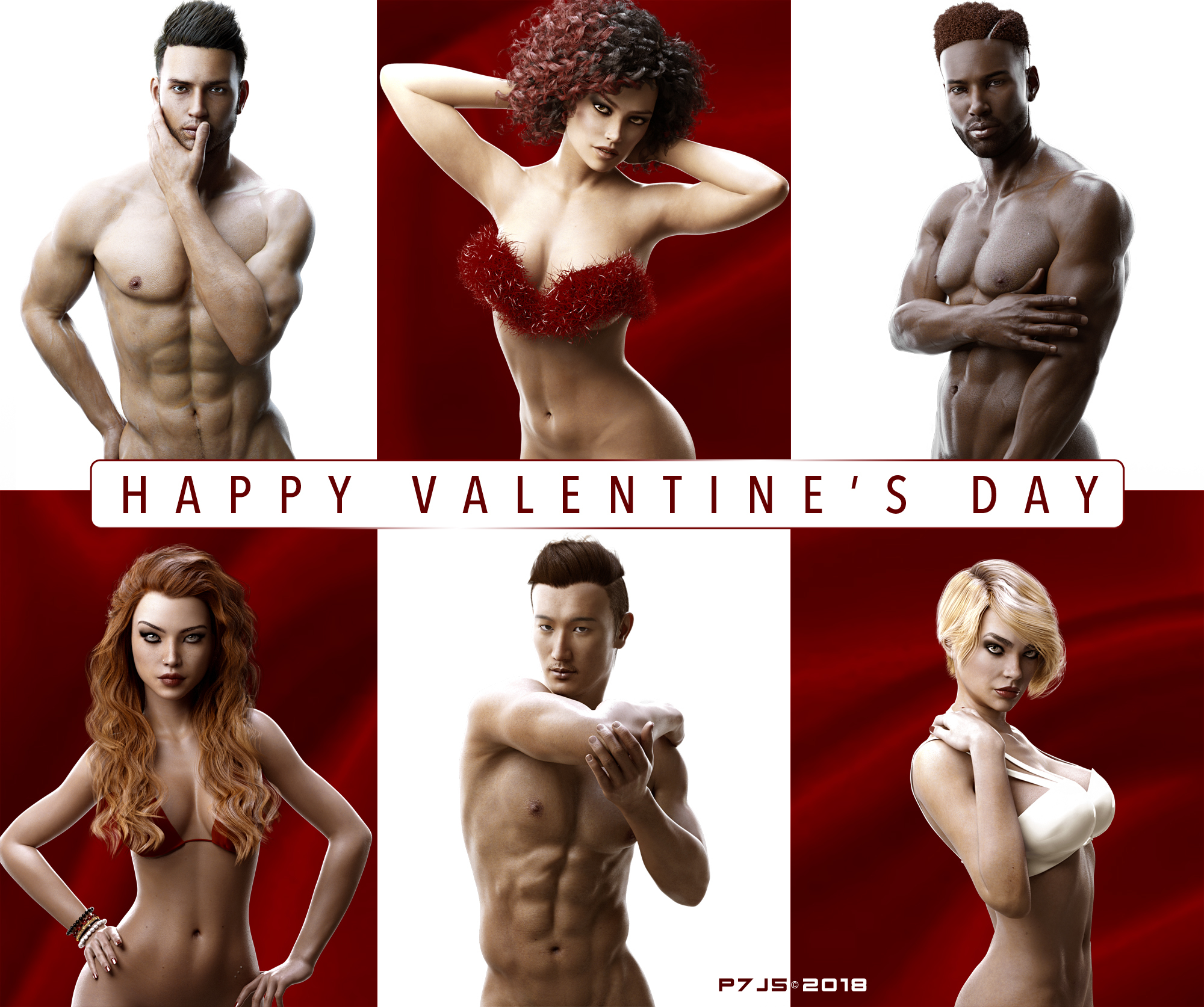 The Valentine Models