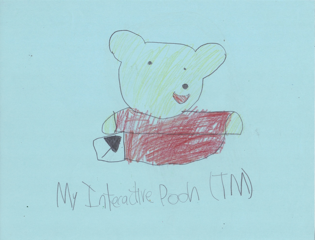 My interactive pooh icon