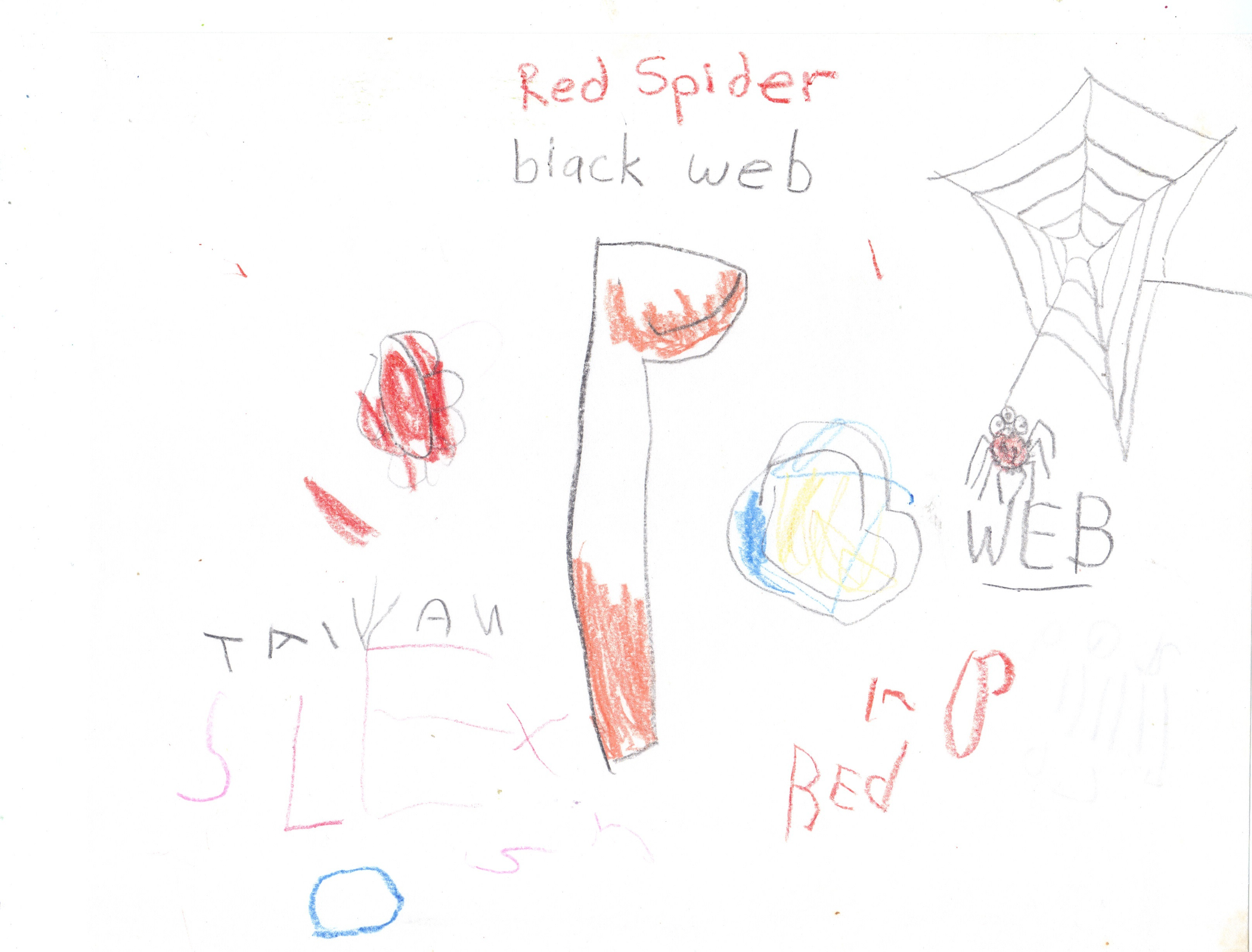 Red Spider, Black Web