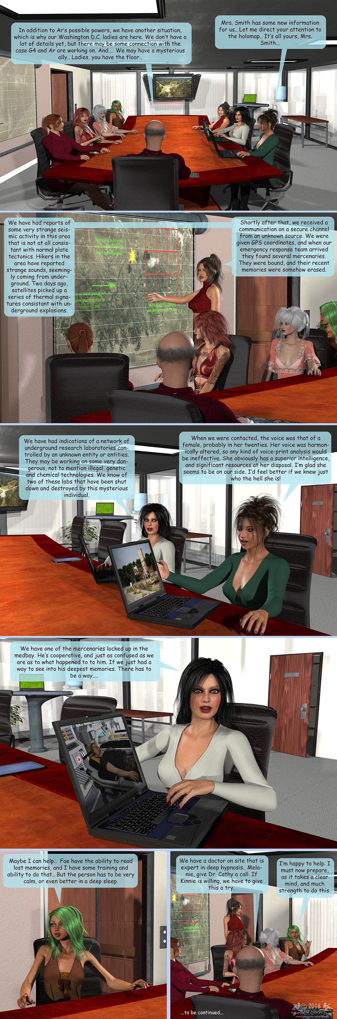 Girls From T.N.A: Breitlenger Jar: Ch 6 Page 14